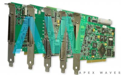 PCI-5124 National Instruments Oscilloscope  Apex Waves   Image