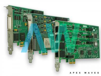 PCIe-6536 National Instruments Digital I/O Device | Apex Waves | Image