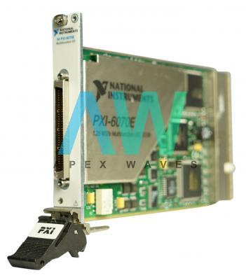 PXI-6070E National Instruments Multifunction DAQ Device   Apex Waves   Image