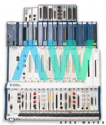 VXI-8345 National Instruments VXI MXI-3 Interface Module | Apex Waves | Image