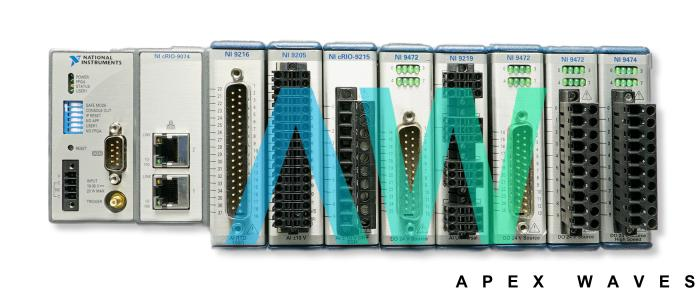 cDAQ-9139 National Instruments CompactDAQ Controller | Apex Waves | Image
