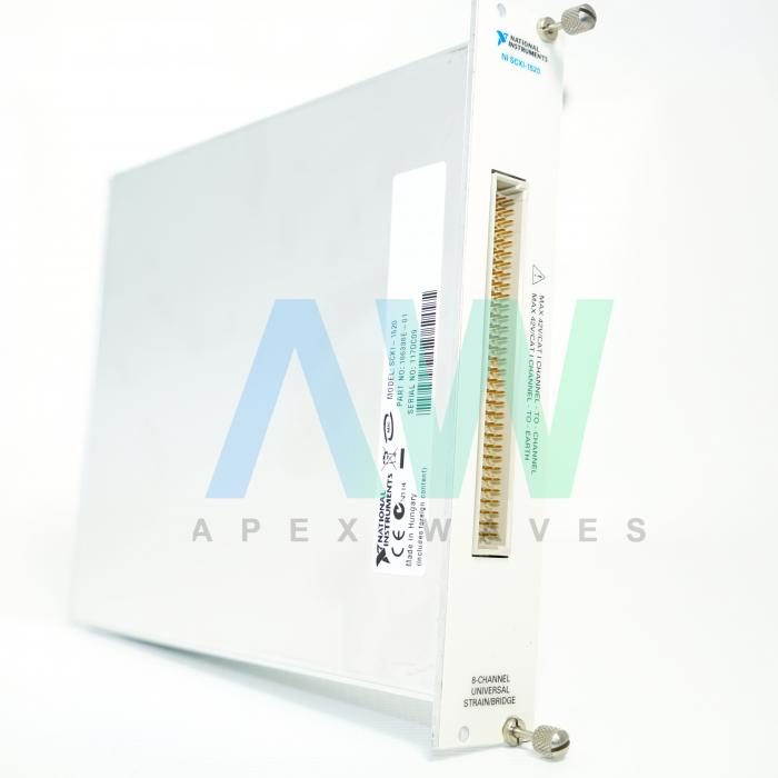 SCXI-1520 National Instruments Strain/Bridge Input Module | Apex Waves | Image