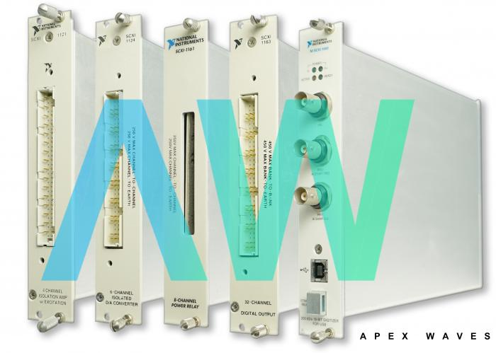 SCXI-1531 National Instruments Sound and Vibration Input Module   Apex Waves   Image