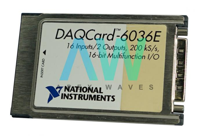 DAQCard-6036E National Instruments Multifunction I/O Device | Apex Waves | Image