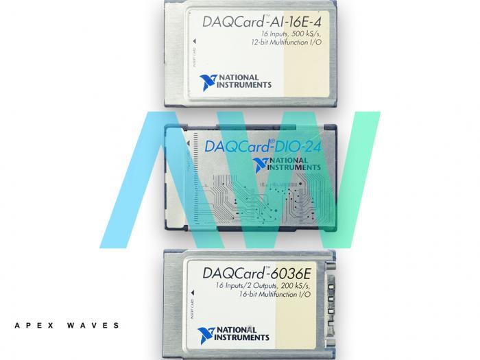 DAQCard-6062E National Instruments Multifunction I/O Device | Apex Waves | Image