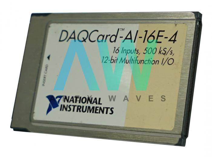 DAQCard-AI-16E-4 National Instruments Multifunction I/O Card | Apex Waves | Image