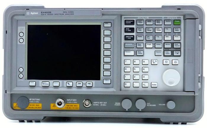 e4402b agilent spectrum analyzer apex waves rh apexwaves com Optical Spectrum Analyzer RF Spectrum Analyzer