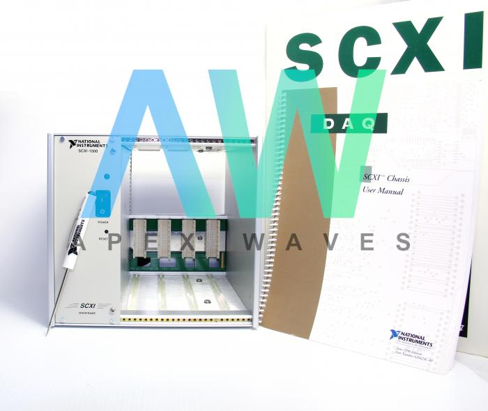 SCXI-1000 National Instruments Chassis | Apex Waves | Image