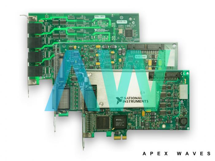 PCIe-7858R National Instruments Multifunction Reconfigurable I/O Device | Apex Waves | Image