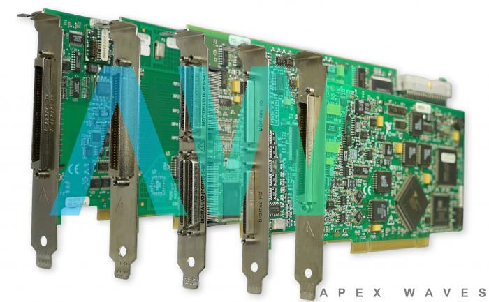 PCI-485/2 National Instruments Serial Interface | Apex Waves | Image