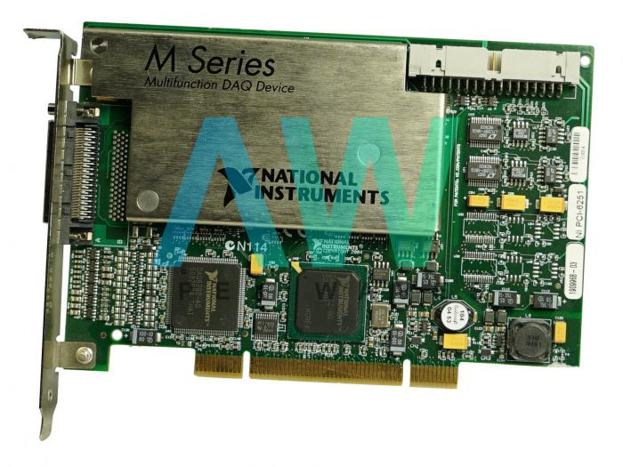 PCI-6251 National Instruments Multifunction DAQ Board | Apex Waves | Image