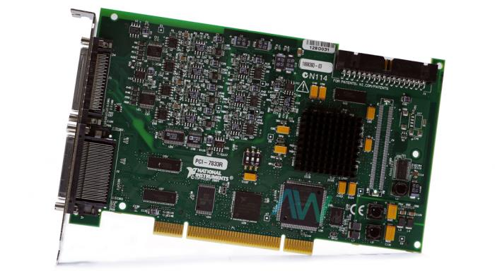 PCI-7833R National Instruments Digital Reconfigurable I/O Device | Apex Waves | Image