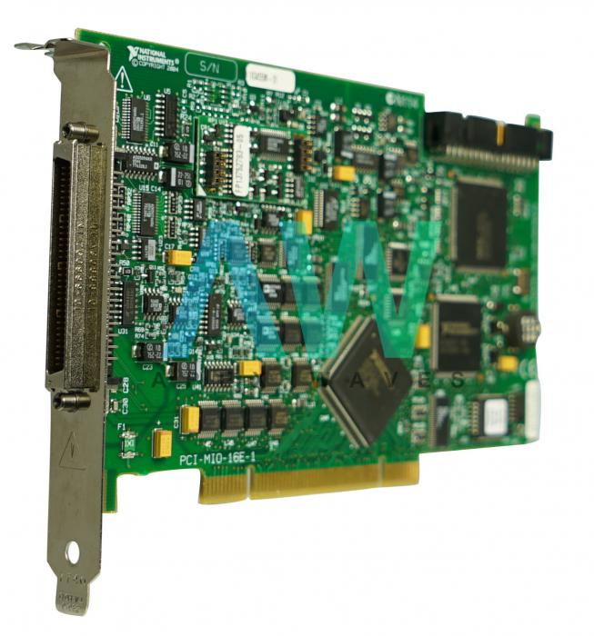 PCI-MIO-16E-1 (PCI-6070E) National Instruments Multifunction I/O Device | Apex Waves | Image