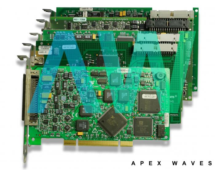 PCI-8431/2 National Instruments Serial Interface | Apex Waves | Image