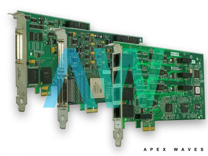 PCIe-6509 National Instruments Digital I/O Device | Apex Waves | Image