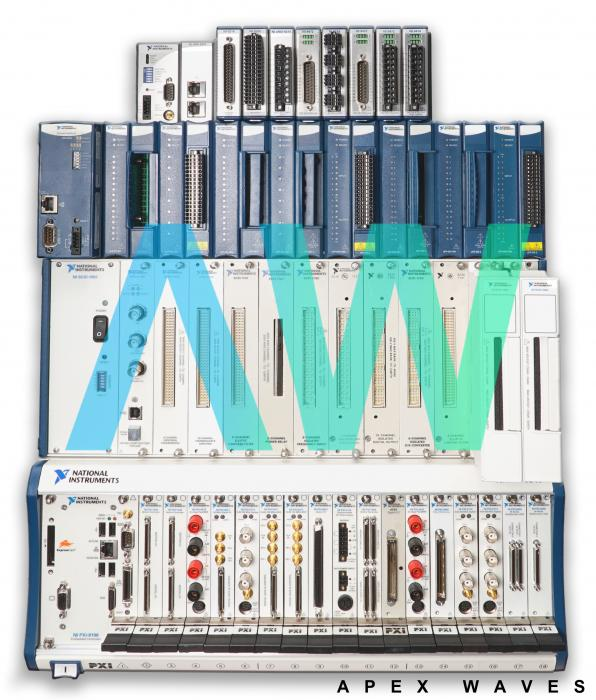 PXI-1010 National Instruments Chassis   Apex Waves   Image
