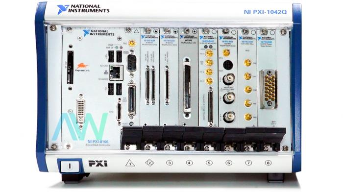 PXI-1042Q National Instruments Chassis   Apex Waves   Image