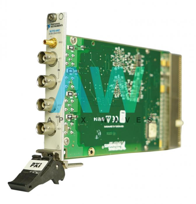 PXI-4461 National Instruments PXI Sound and Vibration Module | Apex Waves | Image