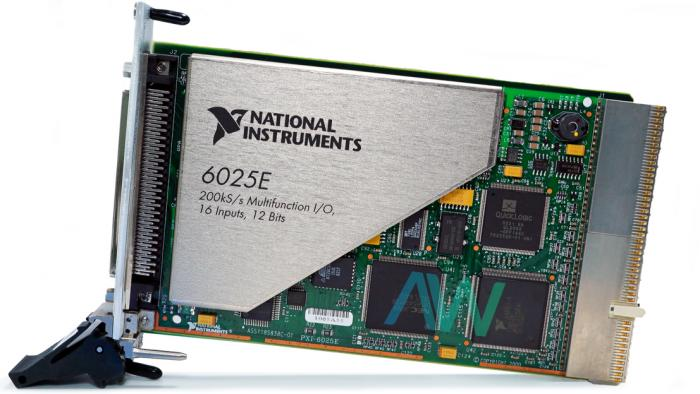 PXI-6025E National Instruments Multifunction I/O Module | Apex Waves | Image