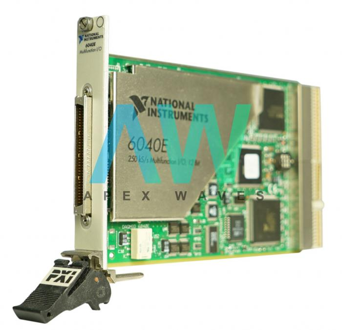 PXI-6040E National Instruments Multifunction DAQ |Apex Waves | Image