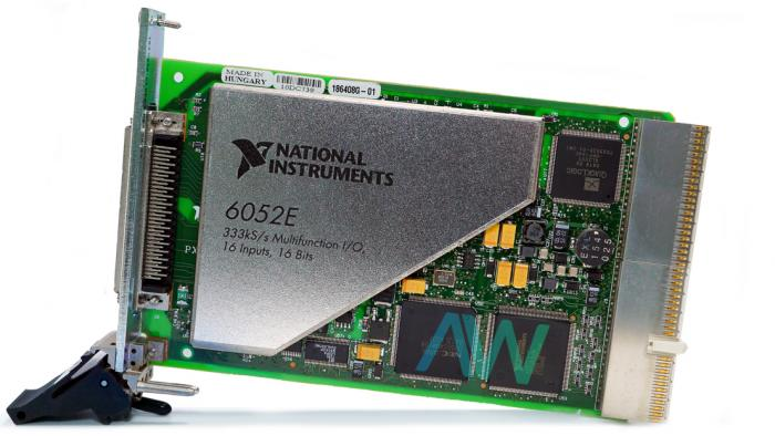 PXI-6052E National Instruments Multifunction DAQ Device | Apex Waves | Image
