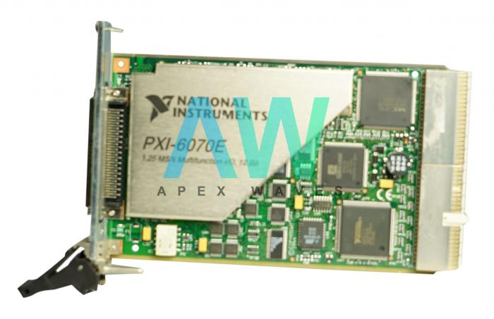 PXI-6070E National Instruments Multifunction DAQ Device | Apex Waves | Image
