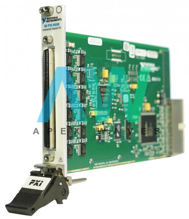 PXI-6509 National Instruments Digital I/O Module | Apex Waves | Image