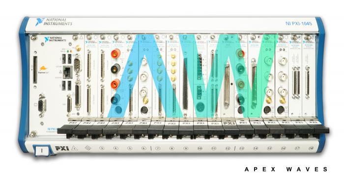 PXI-7842 National Instruments PXI Multifunction Reconfigurable I/O Module   Apex Waves   Image
