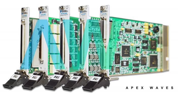 PXI-7842R National Instruments Multifunction Reconfigurable I/O Module  | Apex Waves | Image