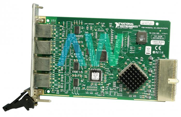 PXI-8430/4 National Instruments RS-232 Interface | Apex Waves | Image