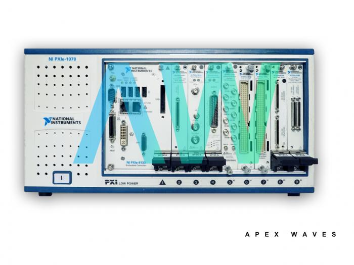 PXIe-1491 National Instruments PXI Audio and Video Analyzer  | Apex Waves | Image