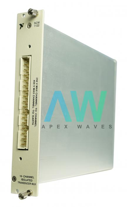 SCXI-1122 National Instruments Multiplexer | Apex Waves | Image
