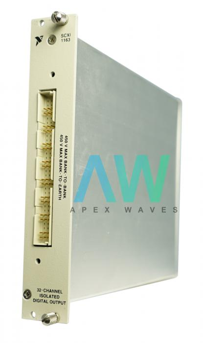 SCXI-1163 National Instruments Digital I/O Module | Apex Waves | Image