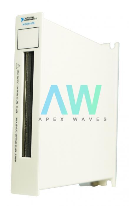 SCXI-1378 National Instruments Terminal Block   Apex Waves   Image