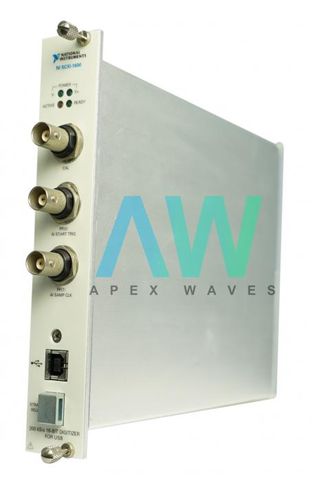 SCXI-1600 National Instruments Data Acquisition Module | Apex Waves | Image